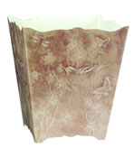 Plastic Bathroom Wastebaskets Taupe