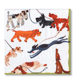 Beverage Napkins Dogs 20 Pc