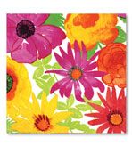 Beverage Napkins Bloom 20 Pc