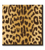 Beverage Napkins Leopard 20 Pc