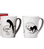 Chat Noir Cat Mugs