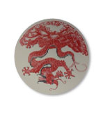 Desk Decor Coasters Dragon