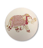 Desk Decor Coasters Elephant