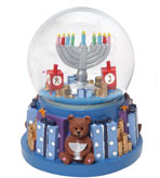Hanukkah Decorations Dreidel Globe