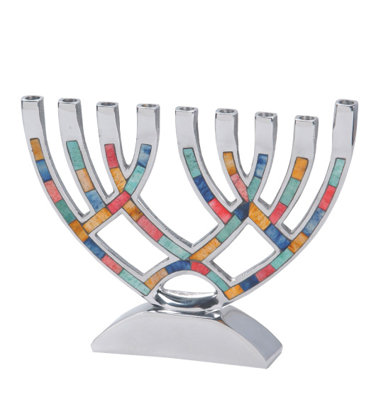 Hanukkah Decorations From Hanuukah Menorahs To Candles