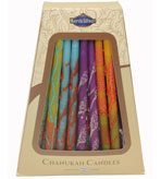 Hanukkah Candles Fantasy 45 Count 5.5""