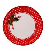 Holiday Party Decor Paper Plates JH