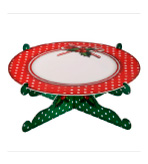 Holiday Party Decor Platter JH