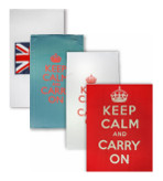 Keep Calm and Carry On Kitchen Towel