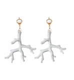 Kenneth Jay Lane Coral Earrings