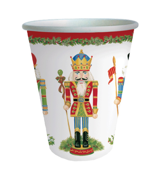 Nutcracker Paper Cups 32 Count  sc 1 st  Decorative Things & Christmas Paper Plates and Napkins