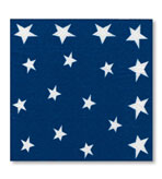 Beverage Napkins Flag 20 Pc