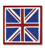 Beverage Napkins Union Jack 20 Pc