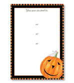 Party Invitations Halloween Harry Fill In Pack 8
