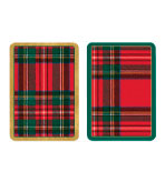 Playing Cards Set Plaid