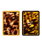 Playing Cards Set Tortoiseshell Jumbo