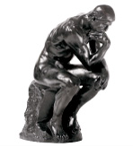 Small Sculpture The Thinker