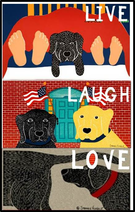 Stephen Huneck Dog Doormats