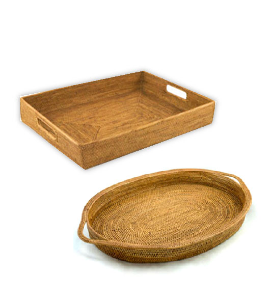 wicker trays - Decorative Tray