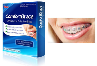 How to make your braces stop hurting it looks like a whitestip but is thicker and contains no whitening chemicals it adheres gently to your teeth and brackets forming a protective solutioingenieria Choice Image