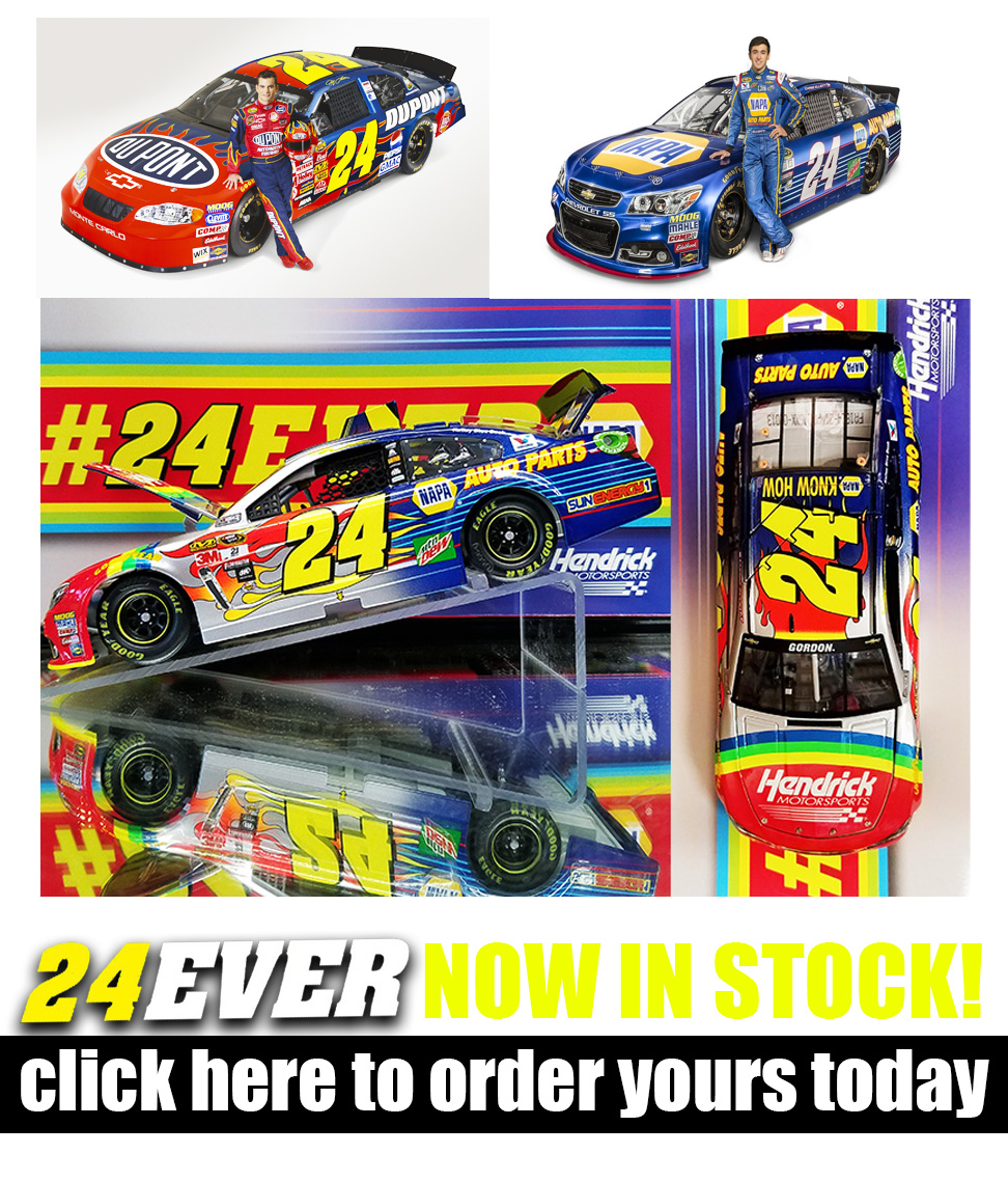 jeff gordon chase elliott fantasy diecasts