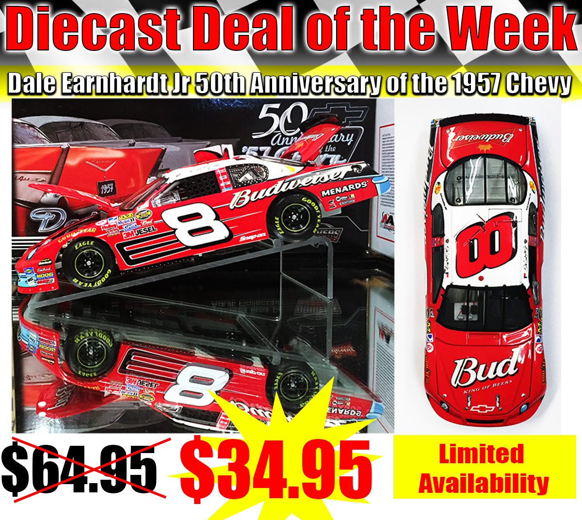 dale jr deals nascar diecasts