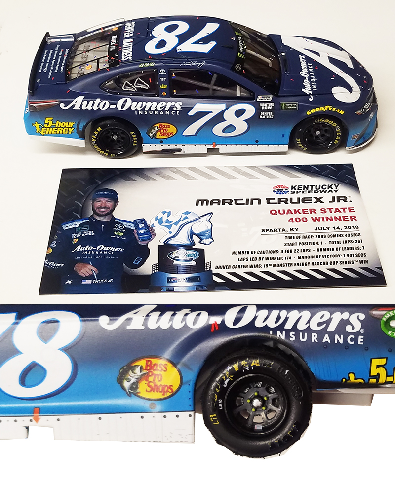 nascar diecast collectible car