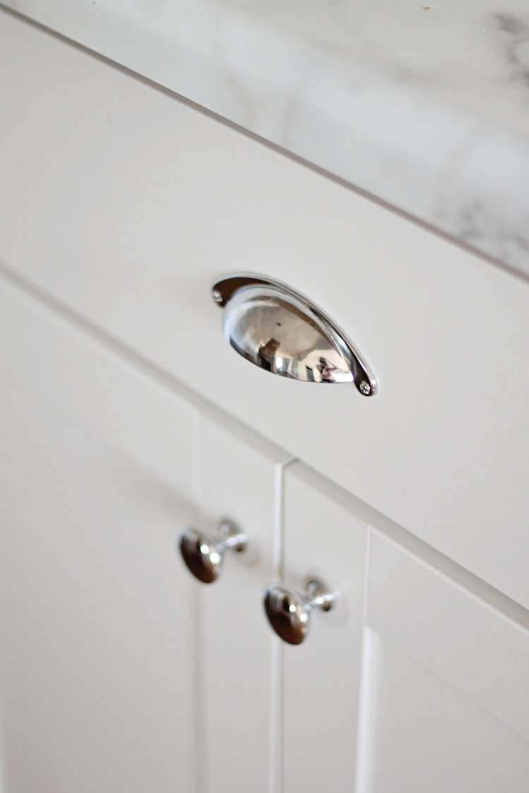 Matching Cup Pulls & Knobs - DLH