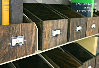 Card Catalog Hardware
