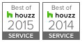 Best of Houzz 2014 and 2015