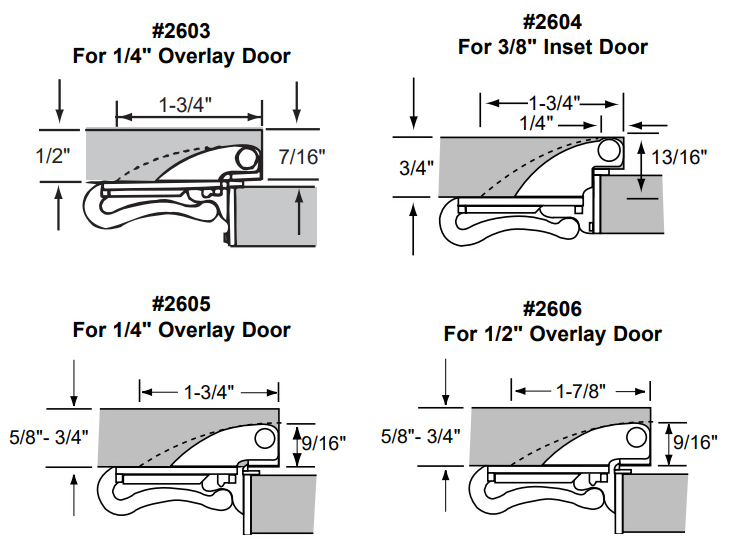 Knife Hing Installation Instructions