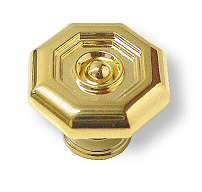 Gold Octagon knob