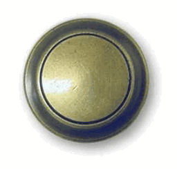 Antique English Two Tone Knob