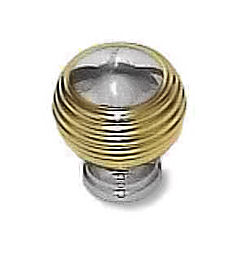 Brass and Chrome Knob