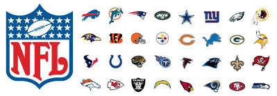NFL Ear Plugs for All 32 Teams!
