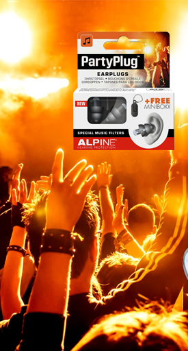 Alpine PartyPlug Ear Plugs for Music