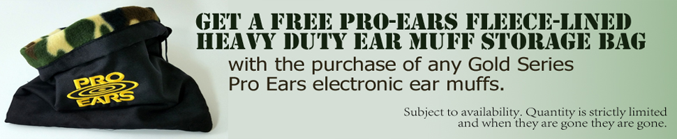 Pro Ears Gold Series Limited Time Offer
