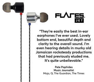 Flares JET Aluminum Earphones Review