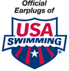 Official Ear Plugs of USA Swimming