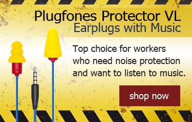 Isolate PRO Solid Titanium Ear Plugs for Musicians