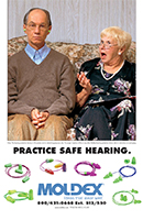 Moldex Practice Safe Hearing Poster