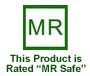This Product is Rated MR Safe