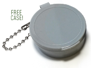 Free Keychain Case with Every Pair!
