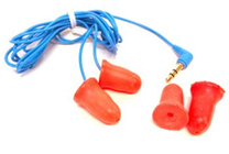 Plugfones Ear Plugs with Music