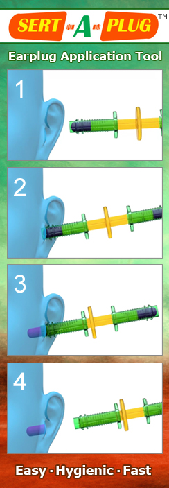 How to Use Sert-A-Plug Foam Earplug Insertion Tool