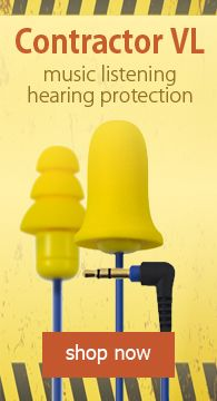 Contractor VL Earplug-Earphone Hybrids