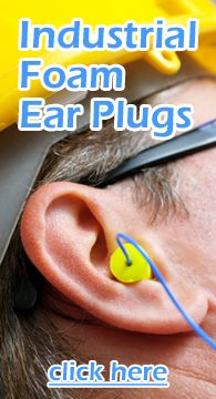 Foam Ear Plugs for Industry and Business