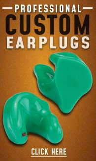 Professional Custom Molded Earplugs