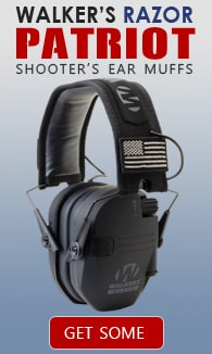 Walker's Razor Patriot Series Electronic Ear Muffs