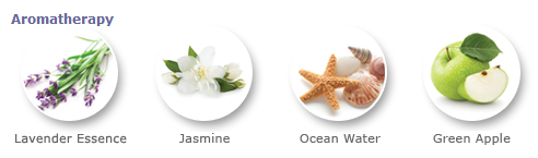 Sound Oasis Natural Wake-Up Aromatherapy Scents